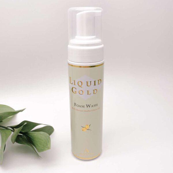 Liquid Gold Foam Wash Anna Lotan, 550 ml / Очищающая облепиховая пенка Анна Лотан, 550 мл