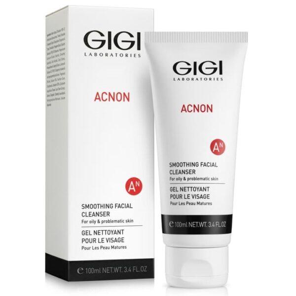 Acnon Smoothing Facial Cleanser GIGI, 100 ml / Мыло для глубокого очищения ДжиДжи, 100 мл