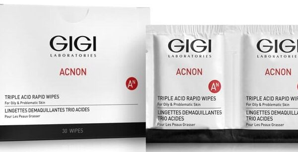 Acnon Triple Acid Rapid Wipes GIGI, 30 units / Салфетки-пилинг трехкислотные ДжиДжи, 30 шт