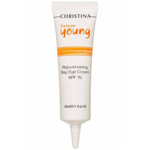 Forever Young Rejuvenating Day Eye Cream SPF 15 Christina, 30 ml / Омолаживающий дневной крем для зоны глаз спф 15 Кристина, 30 мл