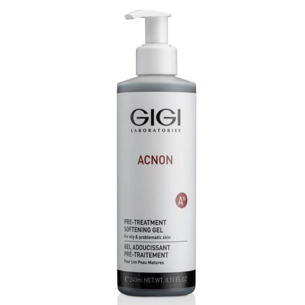 Acnon Pre-treatment Softening Gel GIGI, 240 ml / Гель размягчающий ДжиДжи, 240 мл