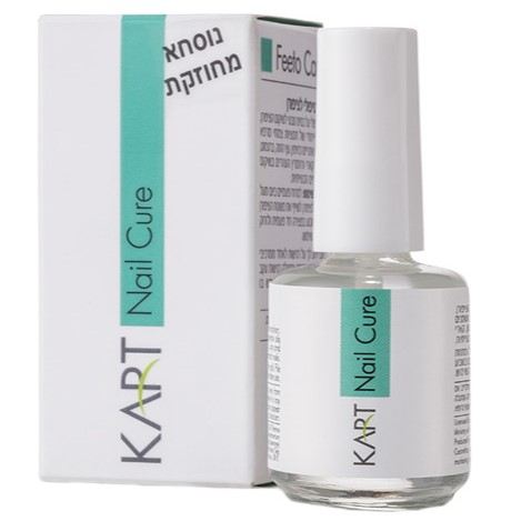 Feeto Care Nail Cure Kart, 15 ml / Жидкость для ухода за ногтями Карт, 15 мл