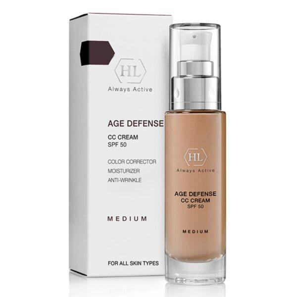 Age Defense CC Cream Medium SPF50 Holy Land, 50 ml / Корректирующий крем Холи Лэнд, 50 мл