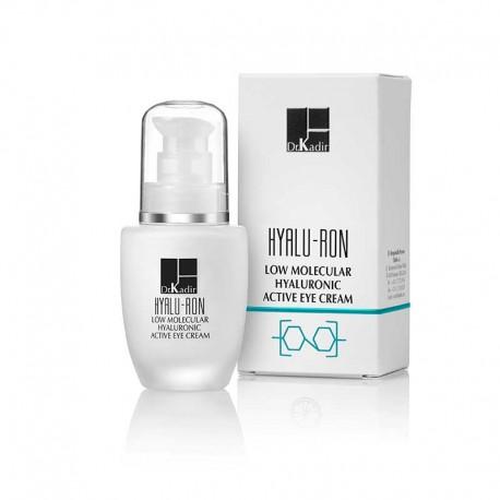 Low Molecular Hyaluronic Concentrated Serum Dr. Kadir, 30 ml / Активный крем для глаз с низкомолекулярной гиалуроновой кислотой Доктор Кадир, 30 мл