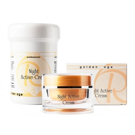Golden Age Nigth Active Cream Renew, 250 ml / Активный ночной крем Ренью, 250 мл