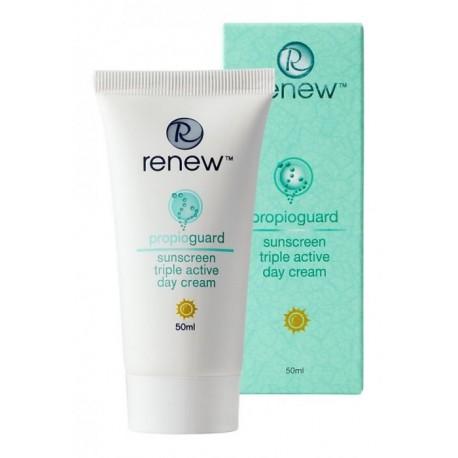Sunscreen Triple Active Day Cream Renew, 50 ml / Активный защитный дневной крем Ренью, 50 мл