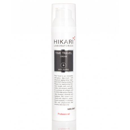 Time Travel cream Mix - oily Hikari, 100 ml / Антивозрастной крем для жирного типа кожи Хикари, 100 мл