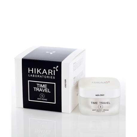Time Travel cream Mix - oily Hikari, 50 ml / Антивозрастной крем для жирного типа кожи Хикари, 50 мл