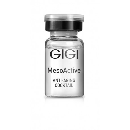Anti-Aging Cocktail GIGI, 5*8 ml / Антивозрастной мезококтейль ДжиДжи, 5*8 мл