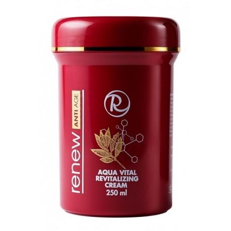 Aqua Vital Revitalizing Cream Renew, 250 ml / Антивозрастной солнцезащитный увлажняющий крем Ренью, 250 мл