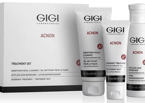 Acnon Treatment Set GIGI / Набор трехступенчатый Акне-контроль ДжиДжи