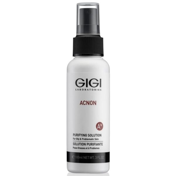 Acnon Purifying Solution GIGI, 100 ml / Эссенция-спрей дезинфицирующий для проблемной и жирной кожи ДжиДжи, 100 мл