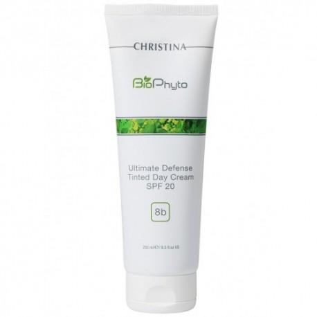 Ultimate Defense Tinted Day Cream SPF 20 (Step 8b) Christina, 250 ml / Дневной крем «Абсолютная защита» SPF 20 с тоном (Шаг 8б) Кристина, 250 мл