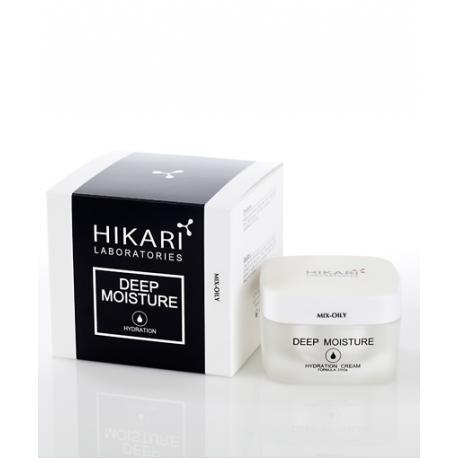Deep Moisture cream Mix-oily Hikari, 50 ml / Увлажняющий крем для жирной и комбинированной кожи Хикари, 50 мл