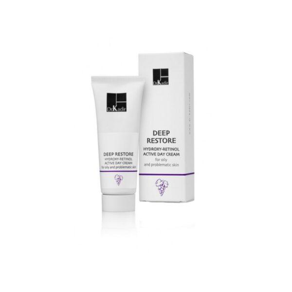 Hydroxy Retinol Day Cream for Oily and Problematic Skin Dr. Kadir, 75 ml / Дневной крем для жирной и проблематичной кожи Доктор Кадир, 75 мл