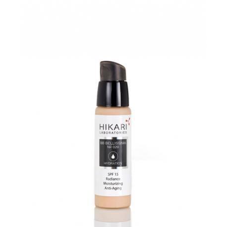BB Bellissima 020 Hikari, 30 ml / Дневной крем с тональным эффектом SPF 15 (020) Хикари, 30 мл