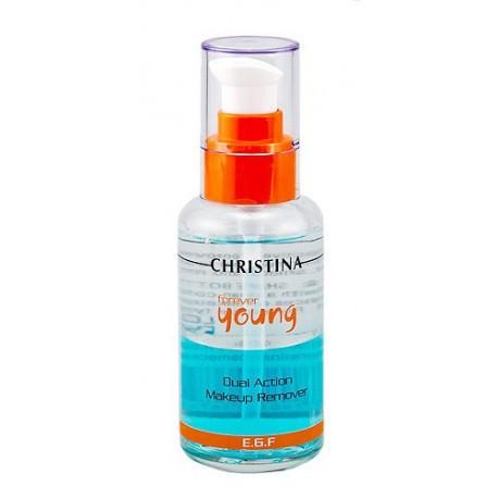 Forever Young Dual Action Make Up Remover Christina, 100 ml / Гель для снятия макияжа с глаз Кристина, 100 мл
