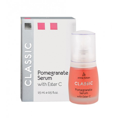 Classic Pomegranate Serum With Ester C Anna Lotan, 15 ml / Гранатовая сыворотка с витамином С Анна Лотан, 15 мл