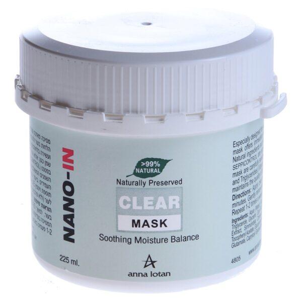 Clear Mask Anna Lotan, 225 ml / Балансирующая увлажняющая маска Анна Лотан, 225 мл