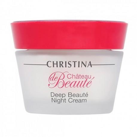 Deep Beaute night cream Christina, 50 ml / Интенсивный обновляющий ночной крем Кристина, 50 мл