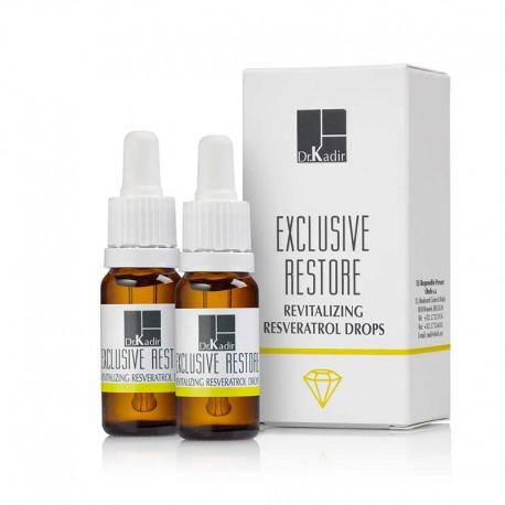 Skin Revitalizing Resveratrol Drops Dr. Kadir, 2*10 ml / Капли Ресвератрол для восстановления кожи Доктор Кадир, 2*10 мл