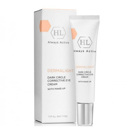 Dark circle corrective eye cream with make up Holy Land, 15 ml / Корректирующий крем для век с тоном Холи Лэнд, 15 мл