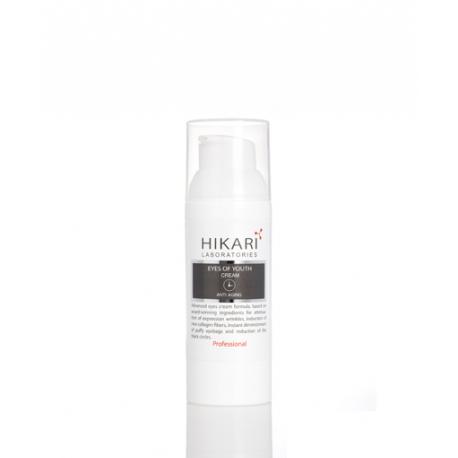 Anti Aging Eyes Of Youth Cream Hikari, 30 ml / Крем для глаз тройного действия Хикари, 30 мл