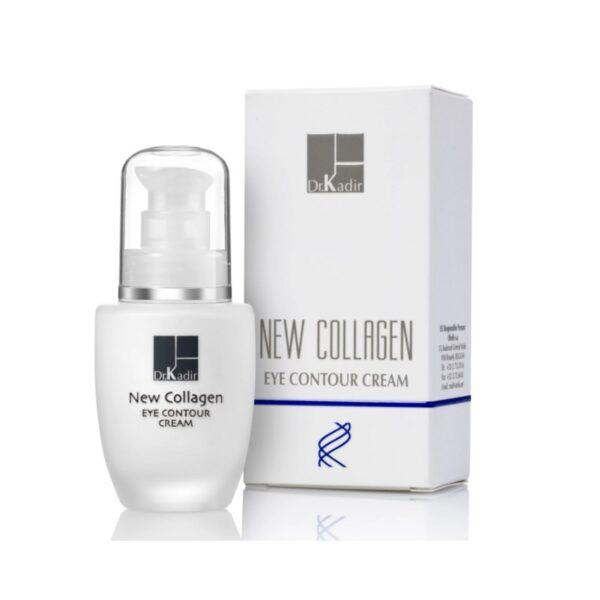 New Collagen Eye Contour Cream Dr. Kadir, 30 ml / Крем для кожи вокруг глаз с коллагеном Доктор Кадир, 30 мл