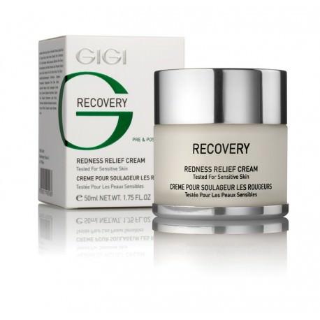 Recovery Redness Relief Cream GIGI, 50 ml / Крем против покраснений ДжиДжи, 50 мл