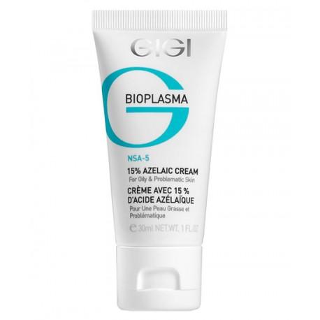 Bioplasma 15% Azelaic Cream GIGI, 30 ml / Крем с 15% азелаиновой кислотой ДжиДжи, 30 мл