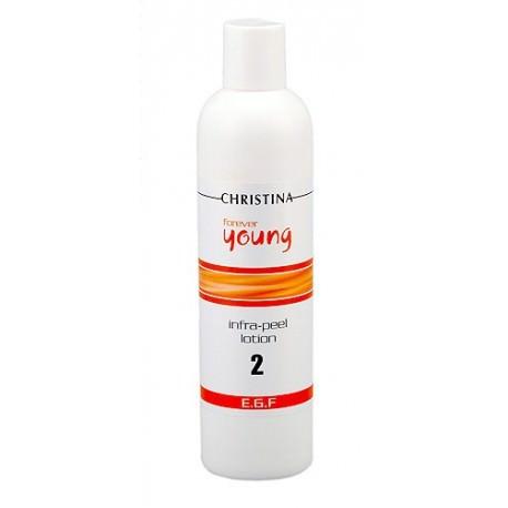 Forever Young Infra Peel Lotion Christina, 300 ml / Лосьон для подготовки кожи к пилингу, 8% AHA, pH 4,0 (шаг 2) Кристина, 300 мл