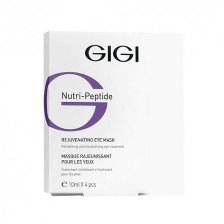 Nutri peptide Eye Mask GIGI, 4*10 ml / Маска для глаз ДжиДжи, 4*10 мл