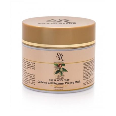 Caffeine Cell Renewal Peeling Mask SR Cosmetics, 200 ml / Маска-пилинг с кофеином ЭсЭр Косметикс, 200 мл