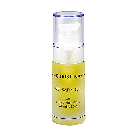 Bio Satin Oil - Серум Christina, 30 ml / Масло Био сатин для нормальной и сухой кожи Кристина, 30 мл