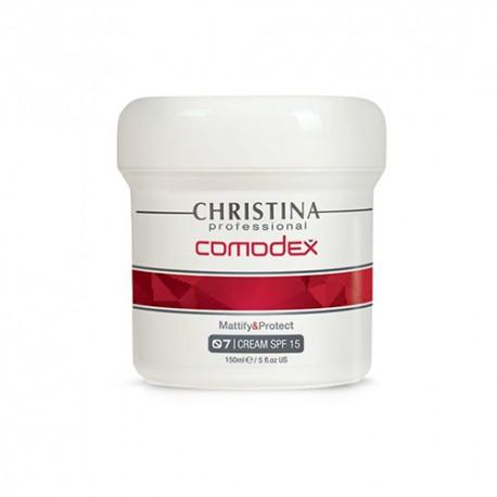 Mattify&Protect Cream SPF 15 (Step 7) Christina, 150 ml / Матирующий защитный крем SPF 15 (шаг 7) Кристина, 150 мл