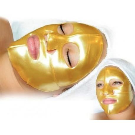 Q10 Gold SR Cosmetics, 4+1 units / Многоразовая золотая маска-компресс Q10 ЭсЭр Косметикс, 4+1 шт