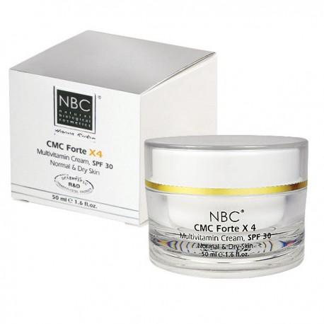 CMC Multivitamin Cream Forte x 4 SPF 30 NBC Haviva Rivkin, 50 ml / Мультивитаминный крем SPF 30 Хавива Ривкин, 50 мл