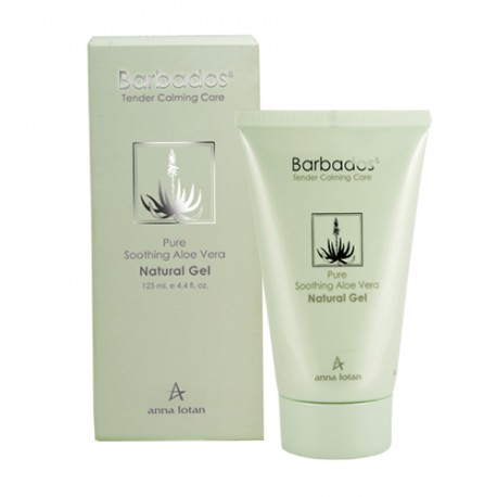 Barbados Pure Soothing Aloe Vera Natural Gel Anna Lotan, 125 ml / Натуральный гель Алоэ-вера Анна Лотан, 125 мл