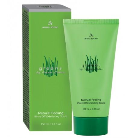 Greens Natural Peeling Anna Lotan, 150 ml / Натуральный пилинг Анна Лотан, 150 мл