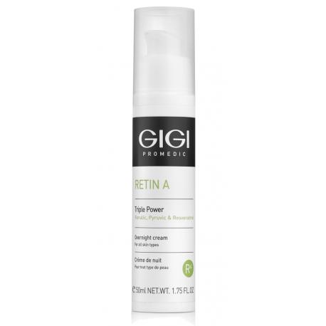 Triple Power Overnight Cream GIGI, 50 ml / Ночной обновляющий крем Тройная сила ДжиДжи, 50 мл