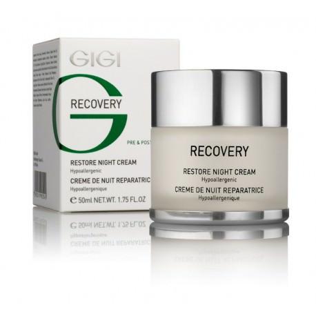 Recovery Restore Night Cream GIGI, 50 ml / Ночной восстанавливающий крем ДжиДжи, 50 мл