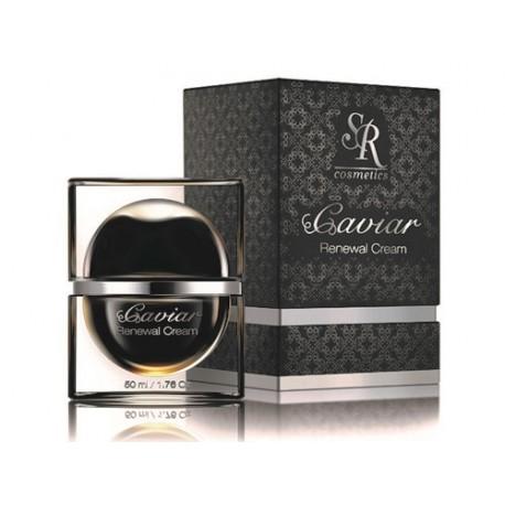 Renewal Cream SR Cosmetics, 50 ml / Обновляющий крем с экстрактом чёрной икры ЭсЭр Косметикс, 50 мл