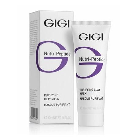 Purifying clay mask for oily skin GIGI, 50 ml / Очищающая глиняная маска для жирной кожи ДжиДжи, 50 мл