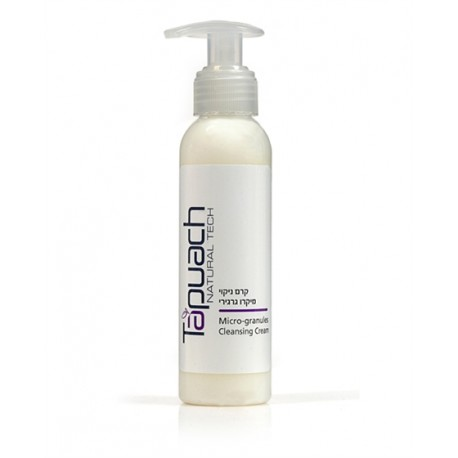 Micro peeling Cleancer Cream Tapuach, 400 ml / Очищающий крем с микрогранулами Тапуах, 400 мл