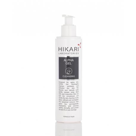 Alpha Gel Hikari, 250 ml / Очистительный гель 3 в 1 Хикари, 250 мл