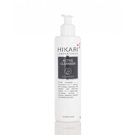 Active Cleanser Hikari, 250 ml / Очистительный гель на основе кислот с витамином С Хикари, 250 мл