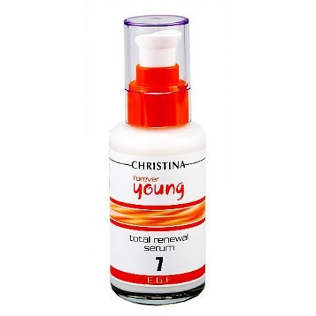 Forever Young Total Renewal Serum Christina, 100 ml / Омолаживающая сыворотка-концентрат (шаг 7) Кристина, 100 мл
