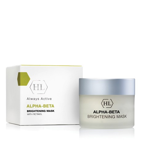 Alpha-beta & Retinol Brightening Mask Holy Land, 250 ml / Осветляющая маска Холи Лэнд, 250 мл