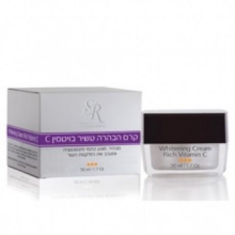 Melanin Out Vitamin C Clarifying Cream SR Cosmetics, 50 ml / Осветляющий крем с витамином С ЭсЭр Косметикс, 50 мл