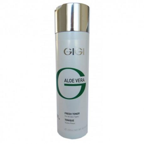 Aloe Vera Fresh Toner GIGI, 250 ml / Освежающий тоник ДжиДжи, 250 мл